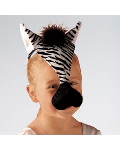 Tier-Haarband Zebra