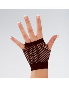 Fingerlose kurze Netzhandschuhe