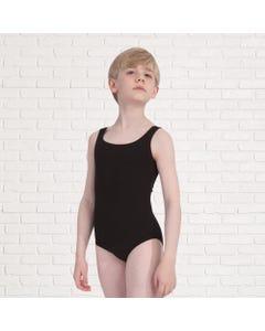 Jungen-Tanztrikot mit breiten Trägern