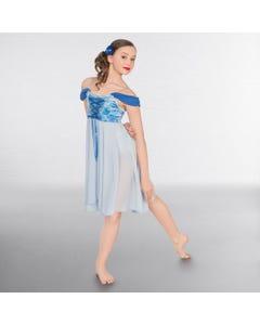 1st Position Lyrisches Kleid im Korsettstil mit Blumenmuster