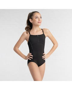 Capezio Zip Front Leotard-Tween