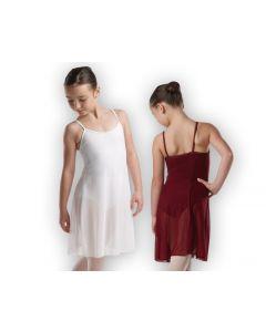 Hübsches Ballettkleid aus transparentem Chiffon