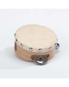 Kleines Tambourin mit 3 Schellen