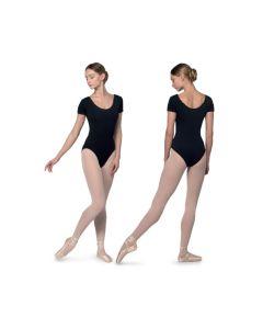 Tanztrikot mit kurzem Arm