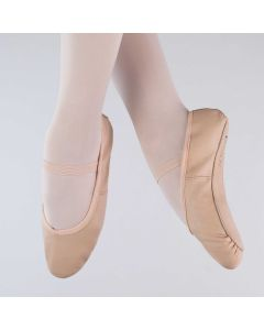 1st Position Premium Plus Rosa Ballettschuhe aus Leder