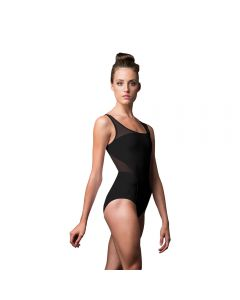 Eleganter Tanz-Body mit Netzeinsatz