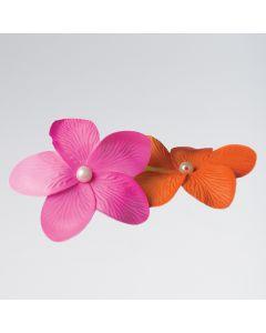 Blumenclip mit Perle