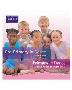 RAD Pre Primary/Primary in Tanz CD`s (2er Set)