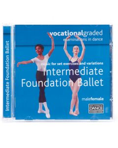 RAD Vocational Intermediate Foundation Ballett CD