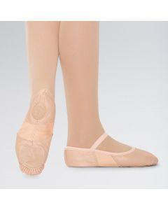 Stretch-Leder-Ballettschuhe