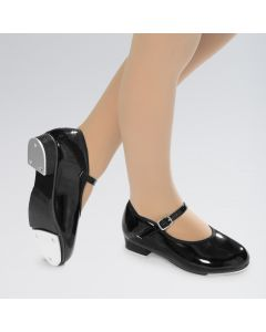 Revolution Buckle Student PU Tap Shoes