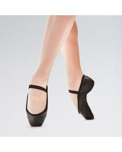 So Danca Premium Leather Elasticated Full Sole Ballet Shoe