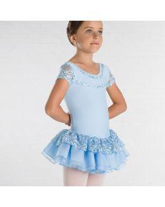 Wear Moi Bonheur Tutu-Kleid mit kurzen Ärmeln
