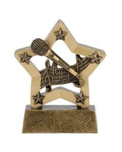 Mini Star Auszeichnung Musik (8cm)