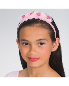 Haarband mit Rosenknospen
