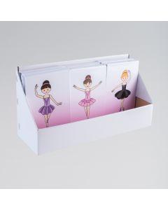 Ballerina Gebundener Memo-Block