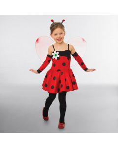 Marienkäfer Kostüm mit Flügeln