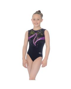 The Zone Nocturne Round Neck Sleeveless Leotard