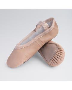 Basic Ballettschuhe aus Leder