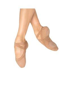 Bloch Pro Elastic Ballettschuhe aus Leinen