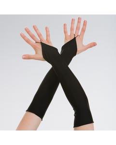 Lange Handschuhe - Einheitsgröße Erwachsene