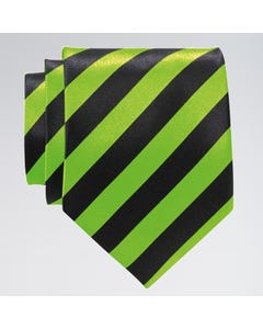 Gestreifte Krawatte in Neonfarben