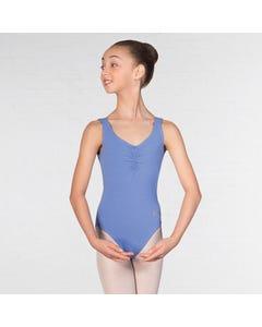 IDTA ärmelloses Ballett-Trikot mit tiefem Rücken - Sapphire
