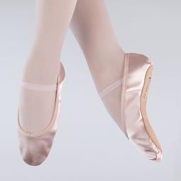1st Position Satin-Ballettschuhe