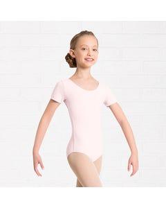 Kinder-Tanztrikot mit kurzem Arm (AMY)