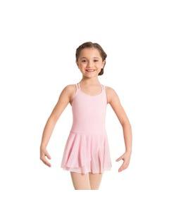 `Crisscross` Tanztrikot mit angenähtem Rock / Ballettkleid