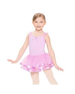 Ballett-Kleid mit Rüschen-Ärmeln