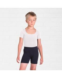 Jungen-Tanztrikot mit kurzem Arm